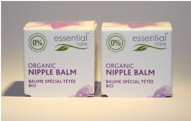 Essential Care Organic Nipple Balm 20g - Pack of 2